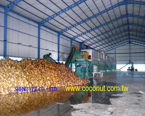 COCONUT FIBER SEPARATION Whole PLANT EQUIP
